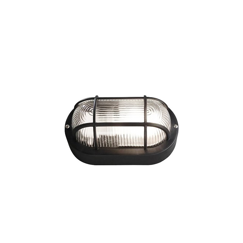 Bullseye lamp, black E27