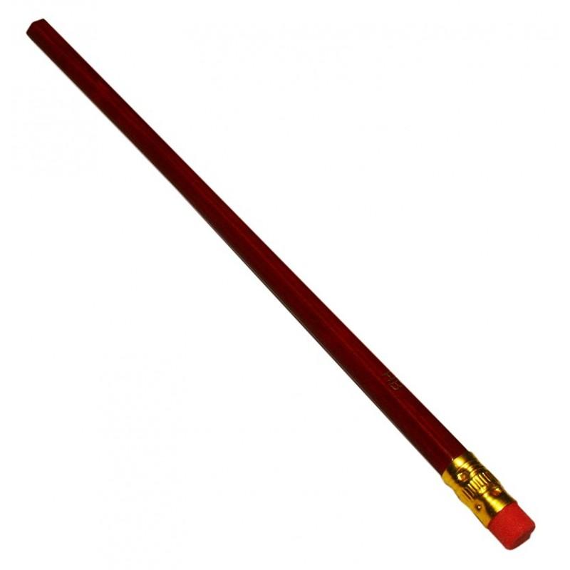Bleistift HB mit Radiergummi