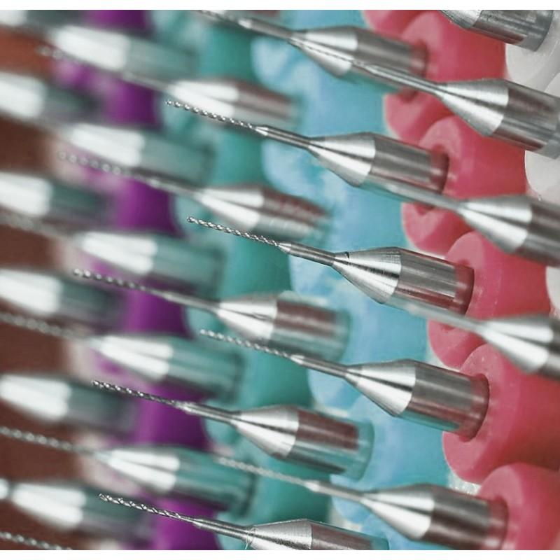 Micro boortjes set 18 (0.25 mm, 10 stuks)