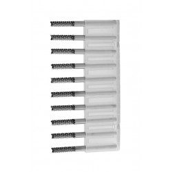 Micro frezen set in box (2.1 mm, 10 stuks)