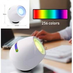 256 kleuren rgb lamp voor slaapkamer en woonkamer