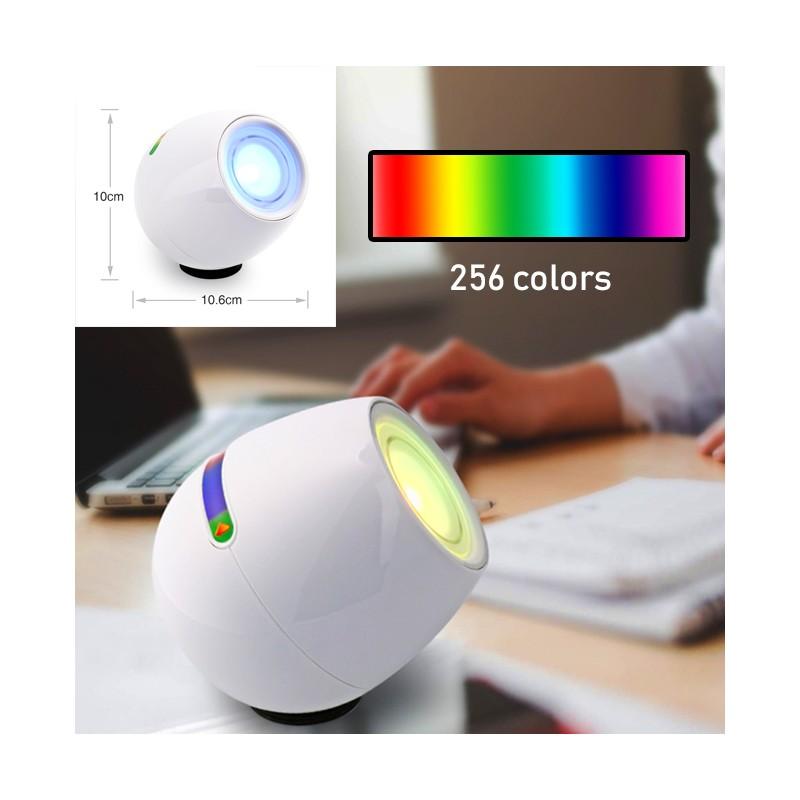 256 farben rgb lampe f r schlafzimmer und wohnzimmer wood and tools. Black Bedroom Furniture Sets. Home Design Ideas