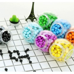 Push pins ball: light yellow, 150pcs
