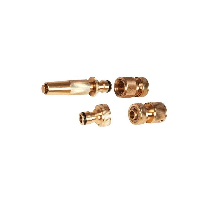 Set of 4 hose connectors