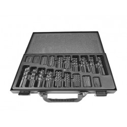 Super set HSS spiral drill bits in case (170 pieces!)