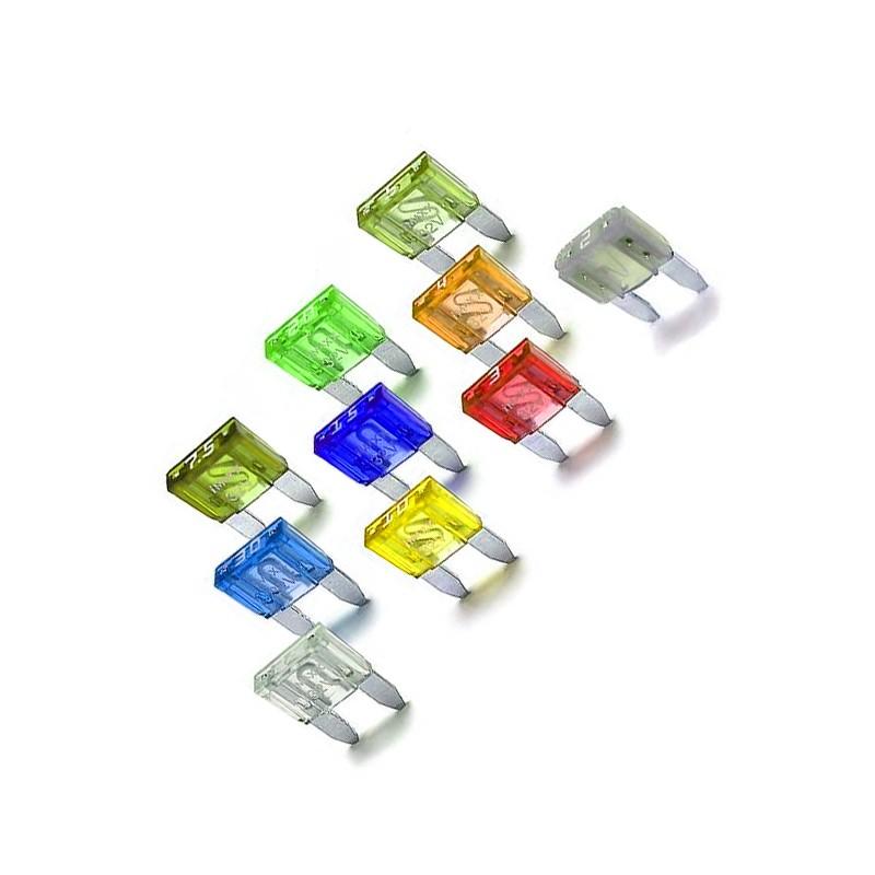 Set fuses, 5A - 30A (40 pieces)