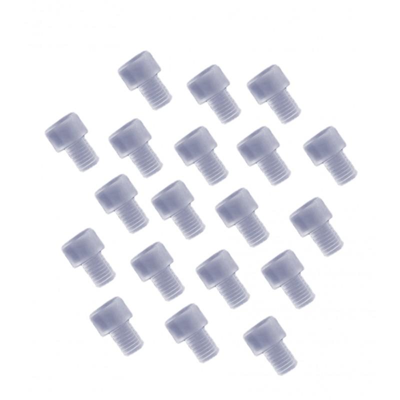 Rubber deurdemper, deurstopper 6mm (type 4)