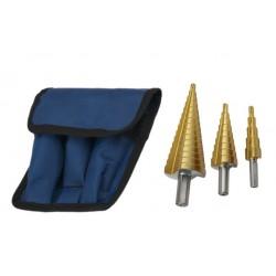 Set step drills (3 pieces)