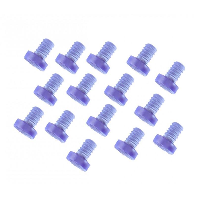 Mini rubber deurdempers, dopjes 9mm, 30 stuks (type 3)
