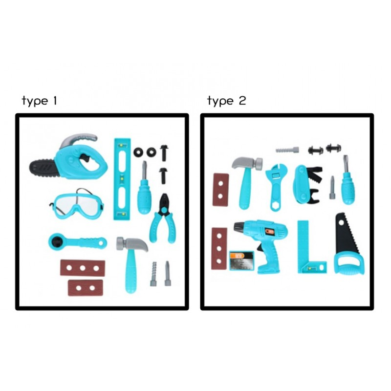 Spielzeug-Werkzeug-set für Kinder 3+