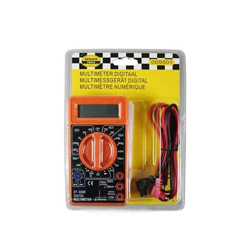 LCD digitale multimeter (oranje)