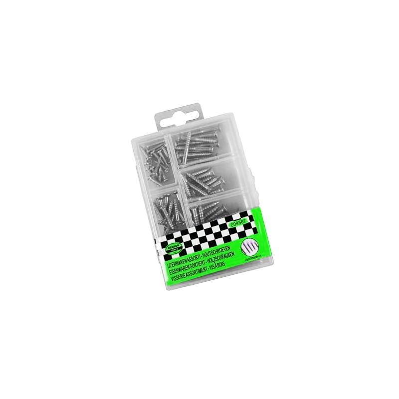 Wood screws in a box