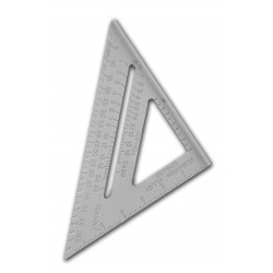 Protractor, ruler, speed square, 150mm