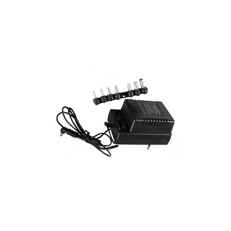 Universele adapter naar 1A, 1.5V t/m 12V