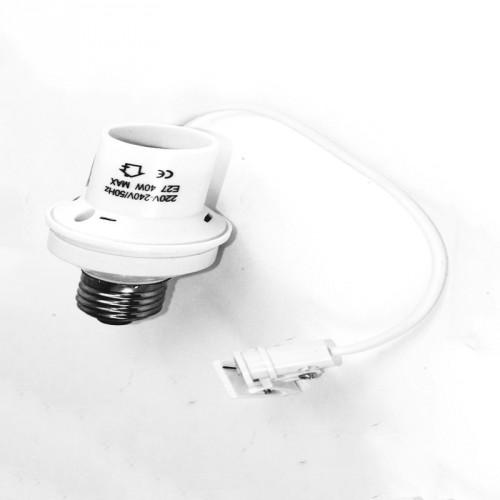E27 fitting met lichtsensor, schemersensor