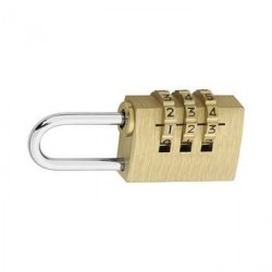 Combination lock, 22 mm