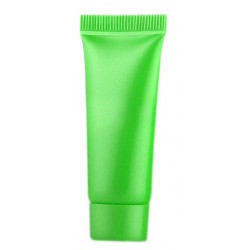 Set groene hervulbare, lege tubes, flesjes 10 ml, 10 stuks