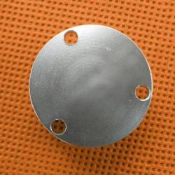 Wasserwaage im silbernen Metallgehäuse