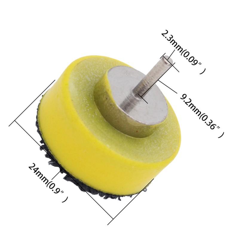 Schuurschijfhouder klittenband 25 mm