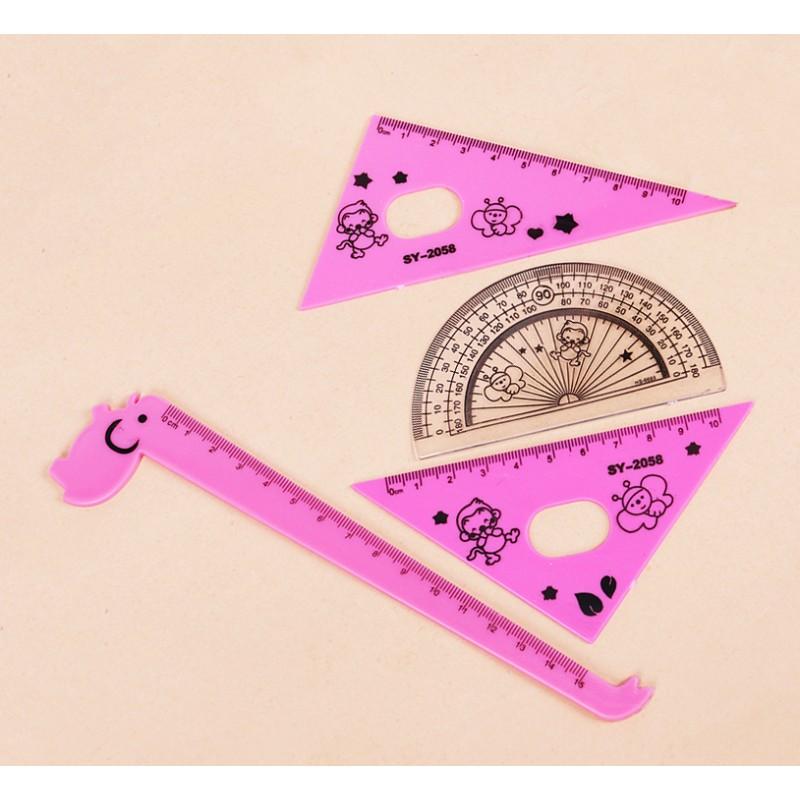 Set stationery for kids, type 2: girls