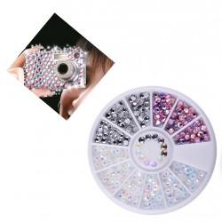 3D deco diamond stones in a box
