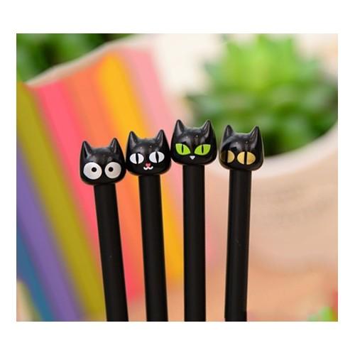 Set katten potloden (4 stuks)