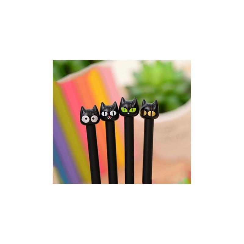Set of cat pencils (4 pieces)