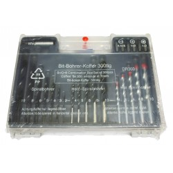 Drill bit combination box set (300 pcs)