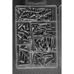 175 pieces sheet metal screws