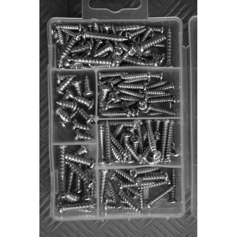 175 delige box met parkerschroeven
