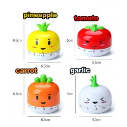 Cheerful cooking timer (carrot)