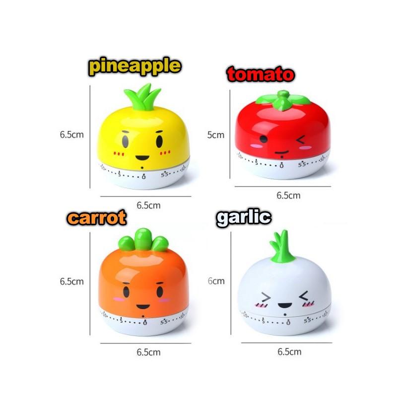 Fröhliche Kochuhr (Tomate)