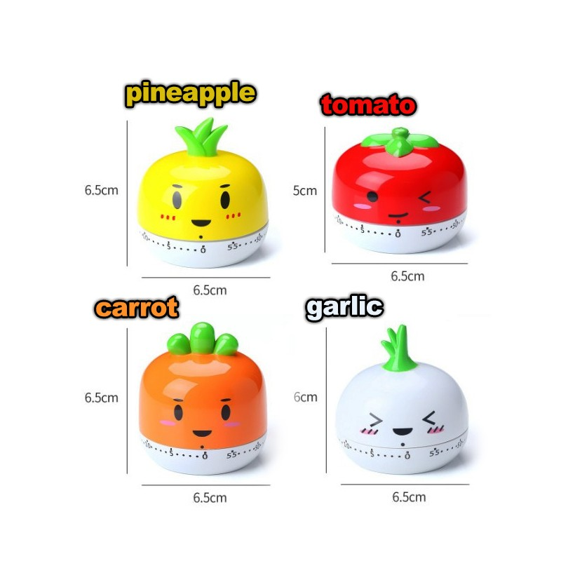 Cheerful cooking timer (pineapple)