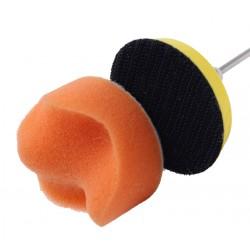 Kleine sponzen set (50mm) voor auto (boen/poets)