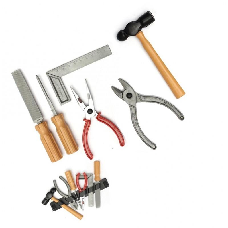 spielzeug werkzeug set f r kinder wood and tools. Black Bedroom Furniture Sets. Home Design Ideas