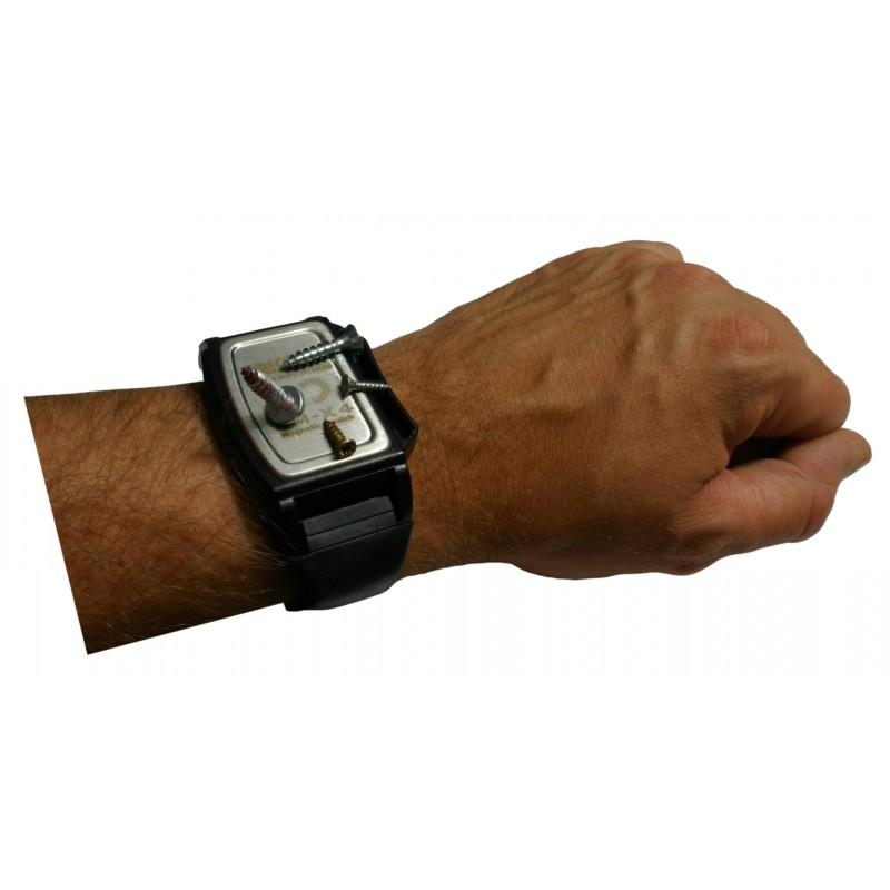 Magnetisches Armband für Metallteile