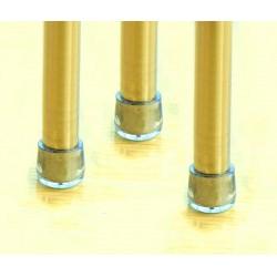 Siliconen stoelpootdop, tafelpootdop, 12.7mm