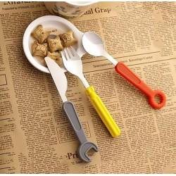 Cutlery set for children (fork, knife, spoon)