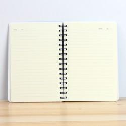Notitieboek, dagboek, schetsboek: geel