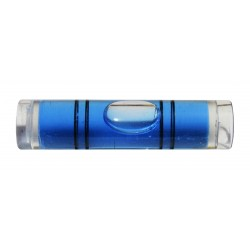 Vial for spirit level (blue)