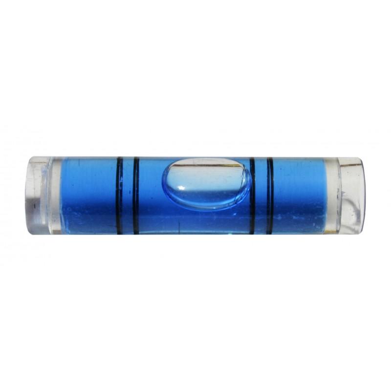 Vial for spirit level (blue)