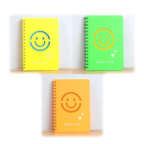 Notitieboek, dagboek, schetsboek: oranje