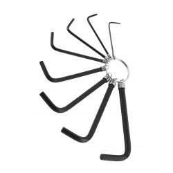 Hex key set (8 pieces)