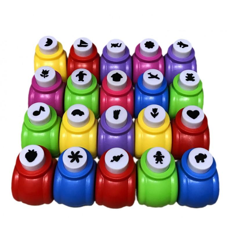 Grote set perforators voor kinderen (20 stuks)