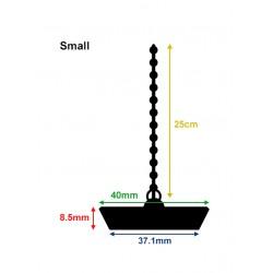 Rubber gootsteenstop, afvoerstop, badstop budget (40mm, klein)