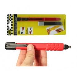 Super carpenters pencil with 9 refills