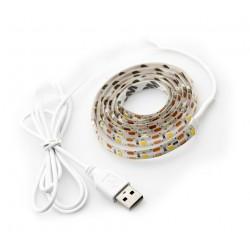 USB LED-Streifen (1 Meter), Typ 4: warmweiß und wasserdicht