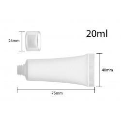 Flacon / tube / flesje met dop 20 ml