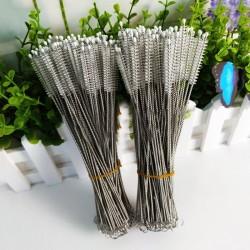 20 stuks lange rvs borsteltjes voor schoonmaak