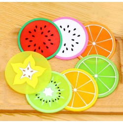 Colorful coasters (7 pcs)